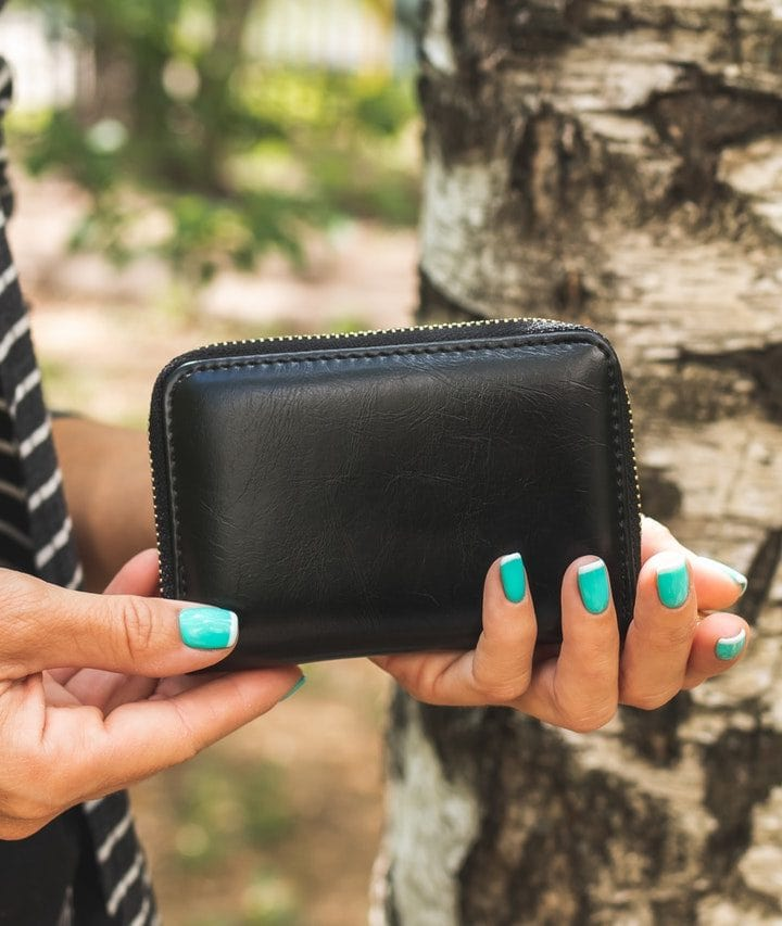 Leather wallets and dryers don't mix. Here's why.