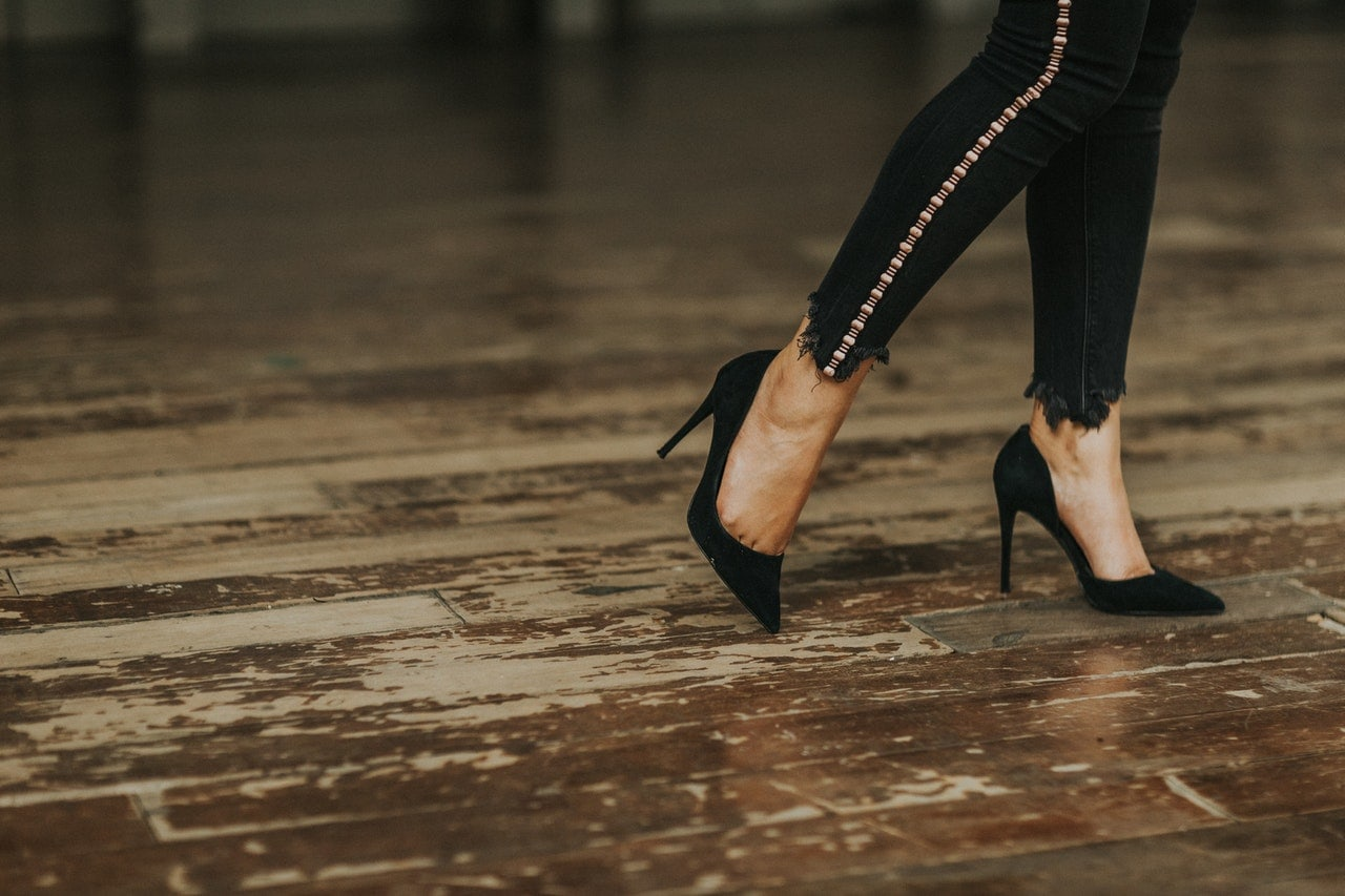 What is the purpose of high heels?