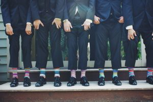 What color shoes to partner with navy pants?